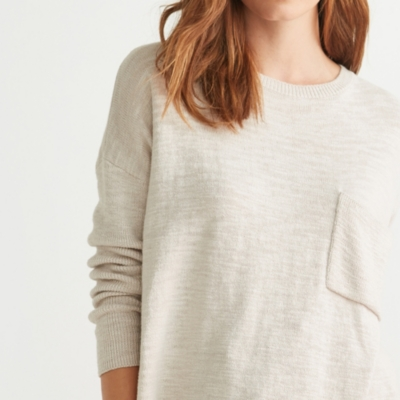 Slouch Pocket Sweater
