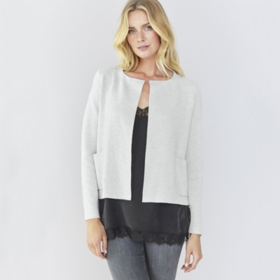 Sparkle Patch Pocket Cardigan