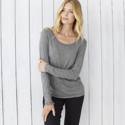 Sparkle Stitch Layering T-Shirt