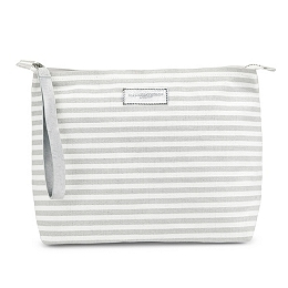 Large Stripe Travel Pouch