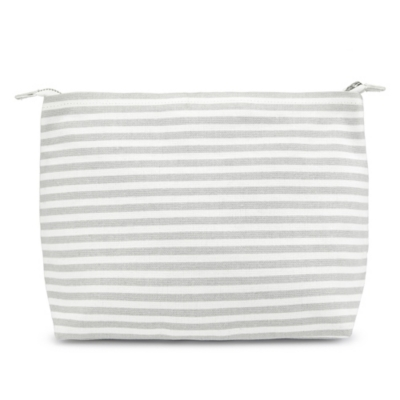 Striped Large Travel Pouch