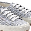Superga Striped Canvas Plimsolls