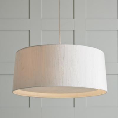 Image of Dupion Silk Ceiling Light