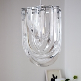 Buy Deco Shade Chandelier from The White Company