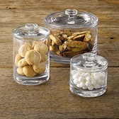 Buy Glass Storage Jars from The White Company