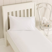 Buy Egyptian Cotton Cot Bed Fitted Sheet from The White Company