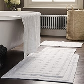 Buy Toulon Bath Mats from The White Company