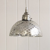 Buy Antiqued Cut-glass Ceiling Light from The White Company