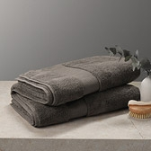 Buy Egyptian Cotton Towels - Dark Mulberry from The White Company