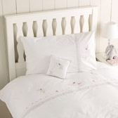 Buy Little Fairies Cot Bed Linen from The White Company