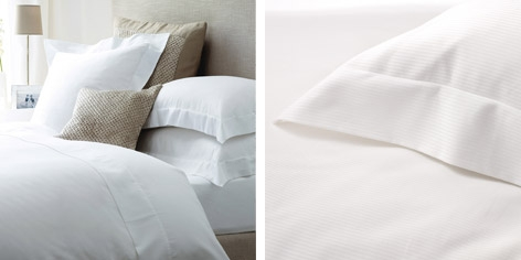 Buy Milford Bed Linen Collection from The White Company