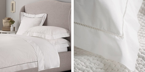Buy Santorini Bed Linen Collection from The White Company