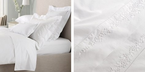 Buy Adeline Bed Linen Collection - White from The White Company