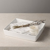 Buy Ceramic Tray - Large from The White Company