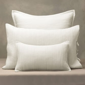 Buy Belgravia Cushion Covers - Alabaster from The White Company