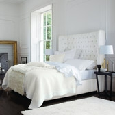 Buy Belgravia Quilt - Alabaster from The White Company