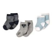 Buy Balloon Stripe Socks from The White Company