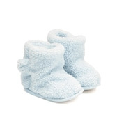Buy Sherpa Slipper Booties - Baby Blue from The White Company