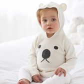 Buy Bear Hoodie from The White Company