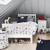 Buy Classic Single Bed from The White Company