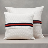 Buy Cricket Cable Cushion Cover from The White Company