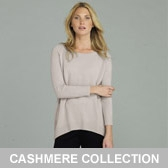 Buy Long Cashmere Sweater - Ash Rose from The White Company