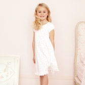 Buy Ditsy Floral Jersey Nightdress from The White Company