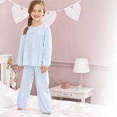 Buy Daisy Empire Jersey Pyjamas from The White Company
