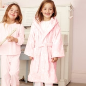 Buy Ditsy Velour Robe from The White Company