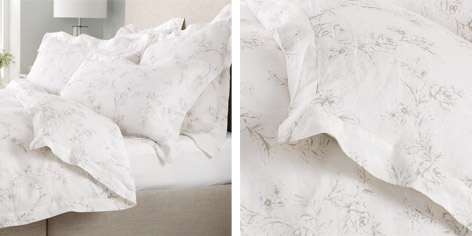 Buy Emilie Bed Linen Collection from The White Company