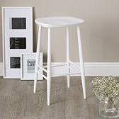 Buy Ercol Bar Stool - White from The White Company