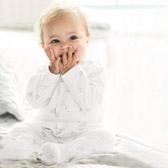 Buy Elephant Sleepsuit from The White Company