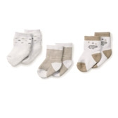 Buy Elephant Socks - 3 - Pack from The White Company