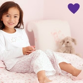 Buy Floral Heart Pyjama Bottoms from The White Company