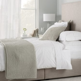 Buy Florence Quilt - Eucalyptus from The White Company