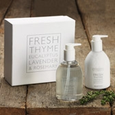 Buy Fresh Thyme Hand & Nail Set from The White Company