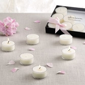 Buy Geranium Tealights - Set of 12 from The White Company