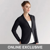 Buy Garter Stitch Knitted Blazer - Dark Charcoal from The White Company