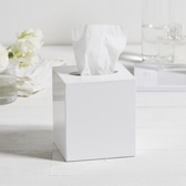 Buy Lacquer Tissue Box Cover from The White Company
