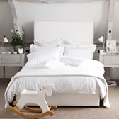 Buy Kingston Bedspread & Cushions - White from The White Company