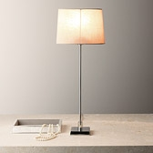 Buy Console Table Lamp with Oval Shade from The White Company