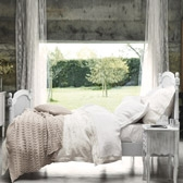 Buy Loire Throw - Natural from The White Company