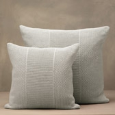 Buy Newport Cushion Covers - Soft Grey from The White Company