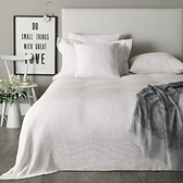 Buy Newport Throw & Cushion Covers - White from The White Company