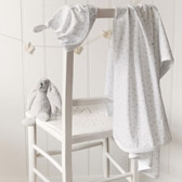 Buy Moon & Star Blanket & Hat Set from The White Company