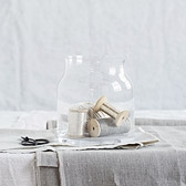 Buy Pablo Glass Vase - Small from The White Company