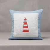 Buy Lighthouse Cushion Cover from The White Company