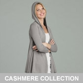 Buy Cashmere Hooded Cardigan - Rose Grey from The White Company