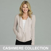 Buy Waterfall Cashmere Cardigan - Natural from The White Company