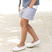 Buy Seersucker Stripe Shorts from The White Company